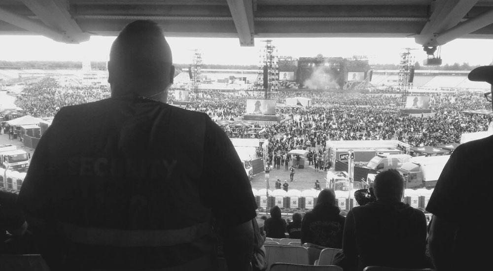 Bild: Security-Dienste auf Festivals-SBS Silverback Security