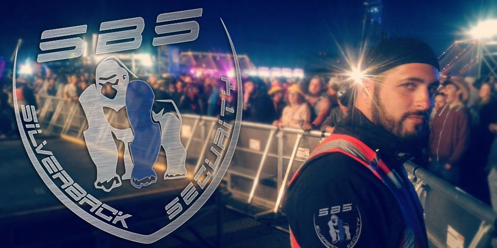 Bild: Security-Dienste auf Festivals-SBS Silverback Security