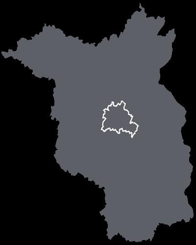 Deutschland-Karte für überregionale Einsätze der SBS Silverback Security
